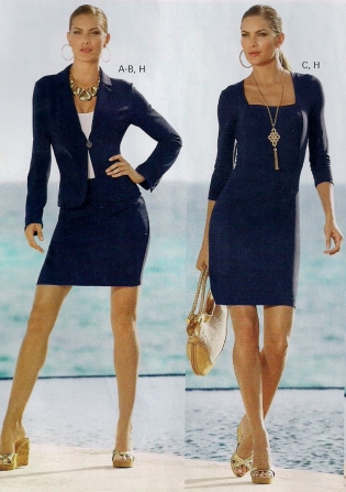 Black versus Navy