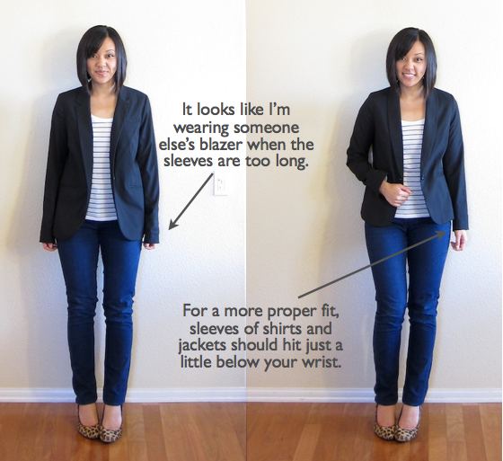 Image result for photo of ill fitting jacket in shoulder